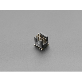 Mini SWD 0.05 (inches) Pitch Connector - 10 Pin SMT Box Header