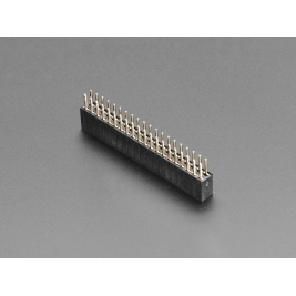 2x20 Socket Riser Header for Raspberry Pi HATs and Bonnets
