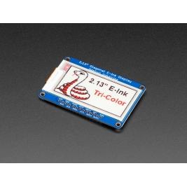 Adafruit 2.13 (inches) Tri-Color eInk / ePaper Display with SRAM