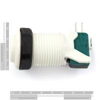 Concave Button - White