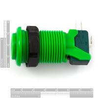 Concave Button - Green