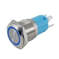 Deviatore antivandalo LED blu