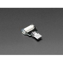 DIY USB Cable Parts - Straight Micro B Plug
