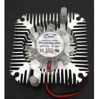 Dissipatore alluminio con ventola 12 volt