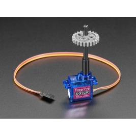 Plastic Micro Servo Adapter for LEGO Cross - 16mm long