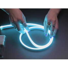 Flexible RGB Neon-like LED Strip 120 LEDs - 1 meter long