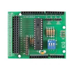 Scheda di espansione I/O per Arduino a 16 uscite