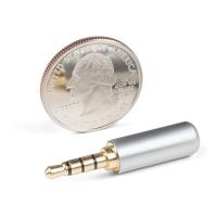 TRRS Audio Plug - 3.5mm (Metal)