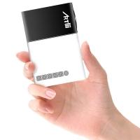 Artlii - Mini Proiettore LED - Black