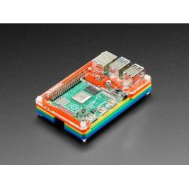 Rainbow Pibow Coup 4 for Raspberry Pi 4