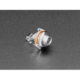 Panel Mount 1/8 (inches) / 3.5mm Mono Connector