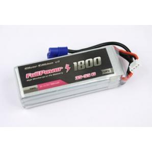 Batteria Lipo 3S 1800mAh 35C Silver V2 - EC3