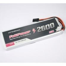 Batteria RX Lipo 2S 2600mAh 35C V2 - JR