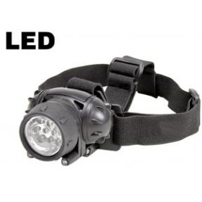 LAMPADA FRONTALE SPOT 10+2 LED