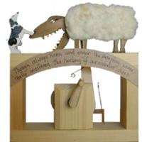Automata Carivorus Sheep legno assemblato