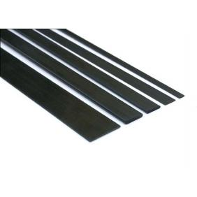 Listello in carbonio pieno 2x12x1000 mm