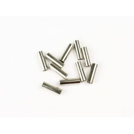 Barilotti fissacavi trecciati Φ2×8mm 10 pz