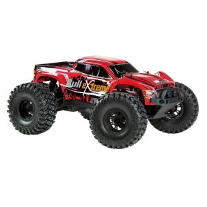 Monster Bullextreme 1/10 brushless RTR rosso