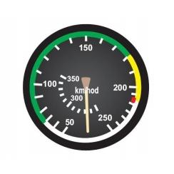 Anemometro analogico 20mm - scala 1:4