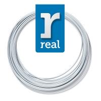 3D pen filament PLA Satin Silver ( 10 m / 1.75 mm )