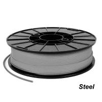 NinjaTek Cheetah 3D TPU filament - Silver (Steel) 1.75 mm / 0.5