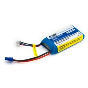 Batteria Lipo 1300mAh 2S 7.4V 20C LiPo, 18 AWG EC2