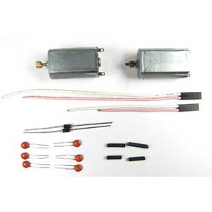 Mini Lama Coppia motori filtri e cavi