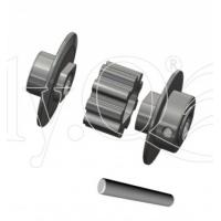 EQ10362 - Vision 50 Competition - Puleggia di coda in metallo