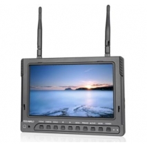 Lcd Monitor 7'' HD 1024x600 5.8 Ghz PVR-732 con DVR