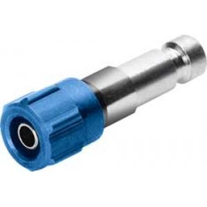 Connettore maschio per tubo da 4 mm