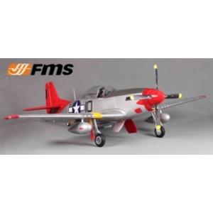 P51D-V8 RED 144cm ARF