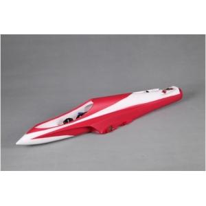 Fusoliera Futura 80mm Rosso