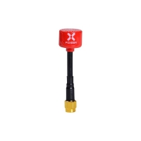 Antenna Lollipop V2 5.8ghz RHCP SMA red