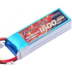Batteria Lipo 3S 1600 mAh 40C - DEANS