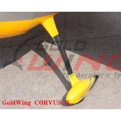 Carrello in carbonio classe 85-120cc tipo Su, Yak, Sbach, Corvus