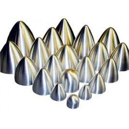 Ogiva alluminio ø 118x120 mm con vite 5 MA
