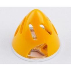 Ogiva nylon/alluminio 75 mm gialla con raffreddamento