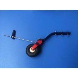Carrello di coda V2 alluminio/carbonio per modelli 150-220CC