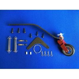 Carrello di coda V3 alluminio/carbonio per modelli 50-70CC