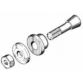 Mozzo eliche per assi 5 mm, M6