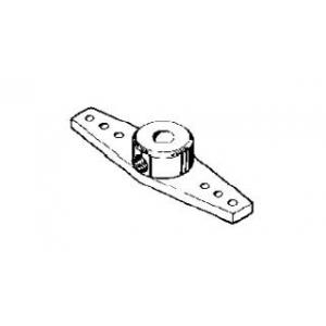 Squadrette carrelli metallo ø 4