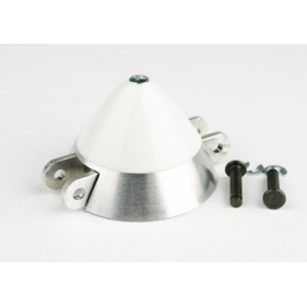 Ogiva alluminio-nylon 40 mm asse Ø 3,2 (spess. 8 mm) passo pin