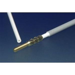 Bowden ottagonale 3/2 mm con filettatura M2 lung. 100 cm(1 pz)