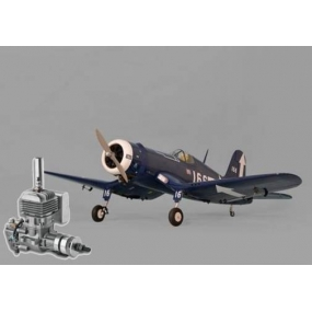 F4U Corsair .91-120/22cc + DLE 20