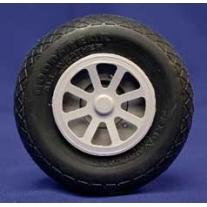 Coppia ruote in scala alleggerite 76 mm