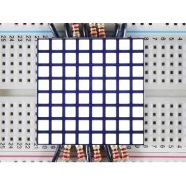 1.2 8x8 Matrix Square Pixel - White