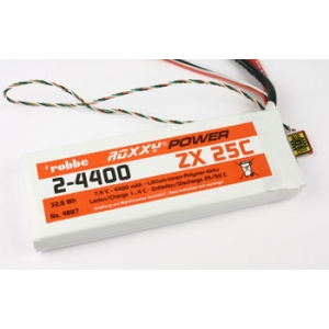 Batteria Li-Po Roxxy-Power ZX 5S 4400mAh 25C + ChipBid