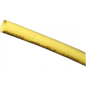 Guaina termoretraibile gialla 9 mm x 100 cm