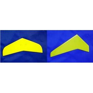 Impennaggi in fibra gialli per T Rex 450