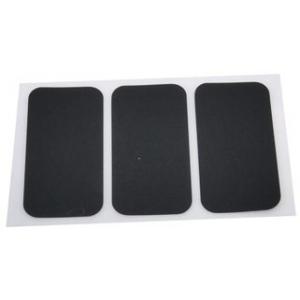 Rettangoli in silicone 50x25mm - 3 pz